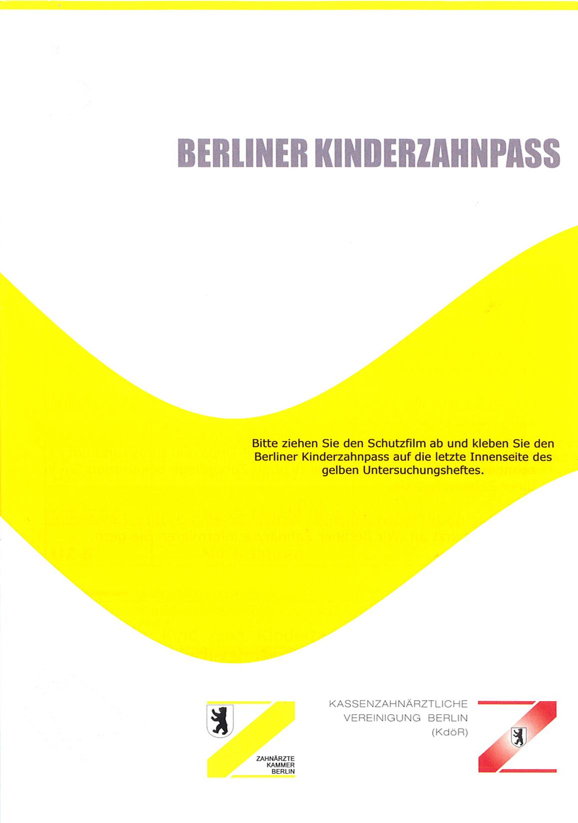 berliner kinderzahnpass